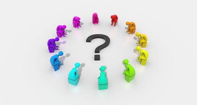 задавать вопросы подчиненным
