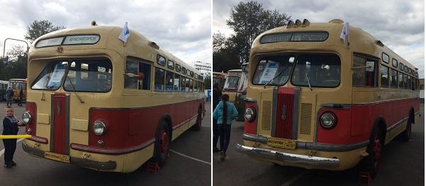 Автобусы ЗИС 154 и ЗИС 155