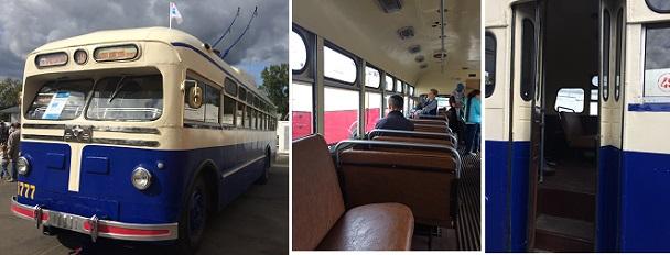 массовый троллейбус 1950 годы