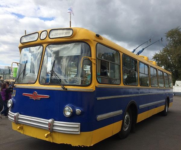 троллейбус 1960 годов