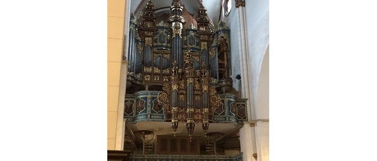 орган знаменитого Домского собора в Риге