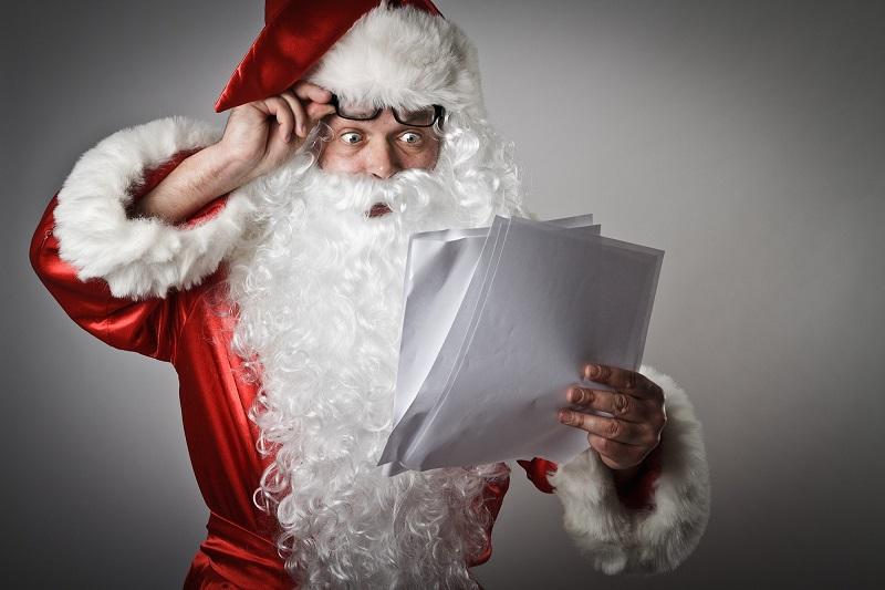 три конверта Деда Мороза